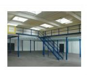 Plateforme mezzanine modulaire - Charge d'exploitation : de 250 à 1000 kg/m²