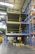 Plateforme mezzanine multi niveaux - Charge admissible de 250 à 2000 Kg par m²