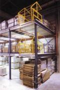 Plateforme mezzanine pour stockage - Capacité de charge 1000 m3