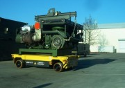 Plateforme motorisée de manutention