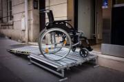 Plateforme pliante amovible en aluminium - Capacité : 300 kg - Pontet adaptables