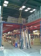 Plateforme stockage sur mesure - Plate forme sur 1, 2 ou 3 niveaux
