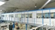 Plateforme vitrée - Aménagement espace de travail