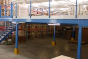 Plateformes de stockage métallique - Poteaux 100 x 100 ou 120 x 120