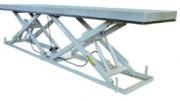 Plateformes élévatrices double ciseaux horizontaux - Capacité d'élévation jusqu'à 8000 kg