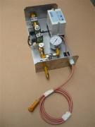 Platine avec boitier d'allumage et de détection - Contrôle de flamme