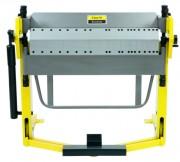 Plieuse de tôle manuelle à double tablier segmenté - Largeur utile de travail : max. 1.020 mm