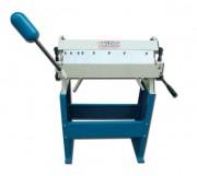 Plieuse de tôle manuelle avec tablier supérieur segmenté - Largeur de pliage : 610 mm