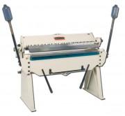 Plieuse de tôle manuelle largeur utile 1295 mm - Pliage de tôles sur une épaisseur jusqu'à 2 mm