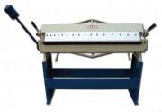 Plieuse manuelle de tôle avec tablier supérieur segmenté - Largeur maximale de pliage des tôles : 1220 mm