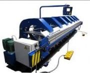 Plieuses cisailles hydrauliques - Capacités: de 3 à 12 mètres de 1 à 3 mm
