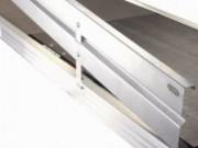 Plinthe échafaudage - Aluminium - Acier galvanisé H (150) mm