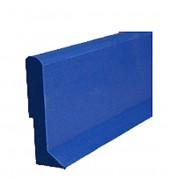 Plinthes de protection en polyéthylène et en inox - Plinthe murales avec ou sans talon
