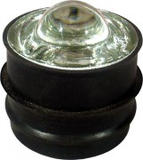 Plot de bordure rétro-réfléchissants 360° en verre - Taille : Ø 51 mm - Conforme aux normes EN 1463-1 & EN 1463-2
