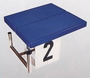 Plot de départ piscineantidérapant - En acier inoxydable ou en ABS - Plusieurs modèles
