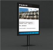 Plv dynamique avec logiciel de création de contenu - Écran affichage dynamique