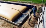 Poche souple engrais liquide azoté 50 m3 - Stockage d'engrais liquide azotés