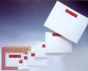 Pochette adhésive porte document - Dimensions intérieures (L x H) mm : De 130 x 105 à 310 x 220