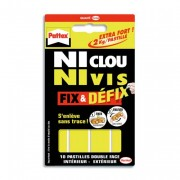 Pochette de 10 pastilles adhésives Fix&Defix de 686662 - Pattex