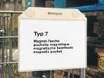Pochettes magnétiques avec boutons NEODYME A6 - MT 72