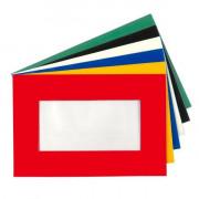 Pochettes transparente adhésive - Longueur 210 mm x Largeur 148 mm x Épaisseur 0.84 mm