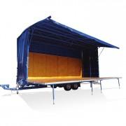 Podium Mobile Exterieur - Surcharge admissible 750 kg/m²