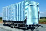 Podium tractable - Surface au sol : 43 m²