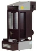 Poêle à huile - Puissance calorifique (réglable) : 16.340 à 24.940 Kcal/H - Débit d'air (M3/H) : 1000