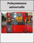 Poiçonneuse hydraulique - Capacités de 66 à 200 Tonnes