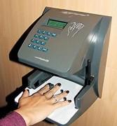Pointeuse biométrique contour main - Basée sur la technologie de la morphologie de la main.