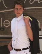 Polo de compétition homme - Taille : S - Manches courtes