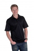 Polo jersey polyester pour homme - Tailles : S - M - L - XL - 2XL - 3XL