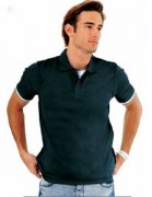 Polo personnalisable manches courtes homme jersey - Polo personnalisé manches courtes homme