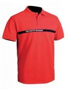 Polo sécurité incendie - 100% coton, 240gr/m - Col 2 boutons - Tailles : S à XXXL