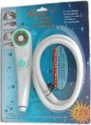 Pomme douche avec bouton pressoir - Débit 6.2 L / min
