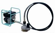 Pompe à câbles avec cadre moteur - Débit : 73 m3