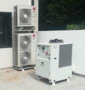 POMPE A CHALEUR ZHF jusqu'à 170 KW - Pompe à chaleur pour air conditionné