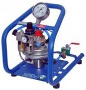 Pompe à épreuve manuelle électrique et pneumatique - Pression de sortie max de 60 et 100 bar