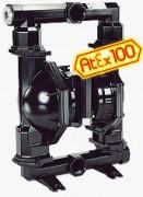 Pompe à membrane de fluides visqueux - Débit max. 650 l/min