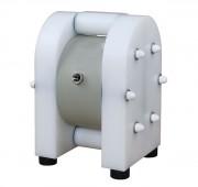 Pompe à membrane pneumatique 60 litres par minute - Débit : de 0 à 60 litres par minute