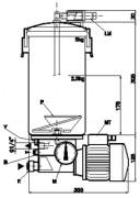 Pompe à moteur pour graissage centralisé - Ref.FRK 5025