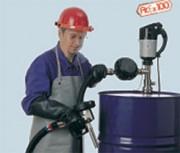 Pompe avec moteur adf et compteur - Pompe vide fûts