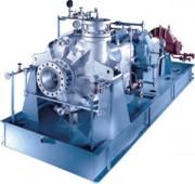 Pompe centrifuge verticale pour chlore liquide - Débit: jusqu'à 140 m³/h