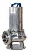 Pompe de relevage triphasée pour eaux très chargées 1.5 kW - En inox - 1.5 kW - 12 m3/h - 7m max d'immersion