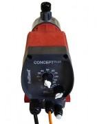 Pompe doseuse asservie - Volume / pression : 8,5l/h / 3 bar ou 3,9L/h / 7 bar
