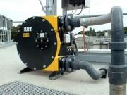 Pompe péristaltique épuration