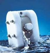 Pompe pneumatique à membrane pour fluides corrosifs - Débit de 0 à 420L / min
