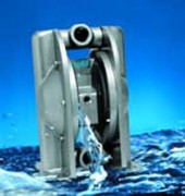 Pompe pneumatique industrie textile - Débit de 0 à 420 L/mn
