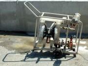 Pompe pneumatique produit chimique - Transfert de produits divers en distillerie