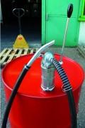 Pompe pour fût - Matière : En acier